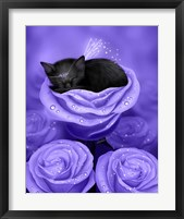 Lilac Daydreams Framed Print