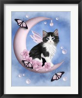 Midday Moon Pearls Framed Print