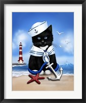 Sailor Boy Framed Print