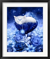 Snowflake Daydreams Framed Print
