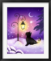 Winter Twilight Framed Print