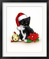 Santa Claws Framed Print