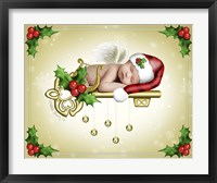 The Christmas Angel Framed Print