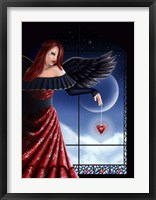 Angel Hearts Framed Print