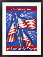 Celebrate Freedom Framed Print