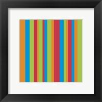 Framed Celebrate Stripes