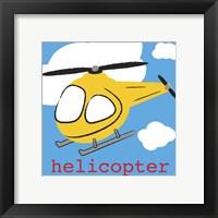 Framed Helicopter