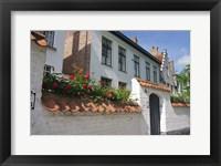 Framed Beguinale House Bruges, Belgium