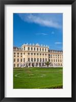 Framed Schonbrunn Palace, Garden