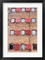 Framed Copenhagen Exterior of Hotel 71 Nyhavn