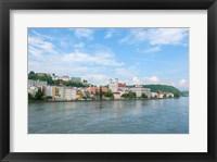 Framed Danube River, Passau