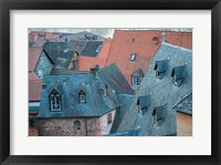 Framed Rooftops in Miltenberg, Germany