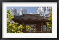 Framed Dr Sun Yat-Sen Chinese Garden