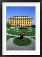 Framed Schonbrunn Palace, Vienna, Austria