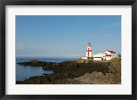 Framed East Quoddy Lighthouse