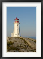Framed Peggy's Cove Lighthouse