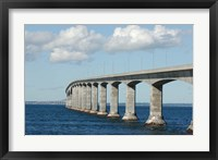 Framed Confederation Bridge, Prince Edward Island