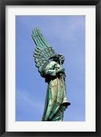 Framed View of Angel in Quebec, Montreal