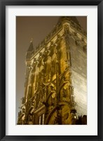 Framed Powder Tower in Prague, Czech Republic