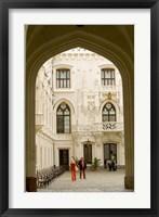 Framed Hluboka Castle, Czech Republic