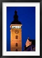 Framed Church Tower, Ceske Budejovice