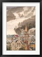 Framed Mont Tremblant Ski Village