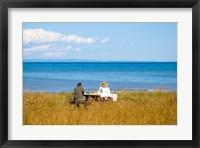 Framed New Brunswick, Acadia, Miscou Island romance
