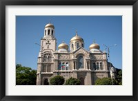 Framed Holy Assumption Cathedral, Bulgaria