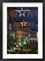 Framed Christmas Lights in Paris