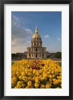 Framed Hotel des Invalides, Paris, France
