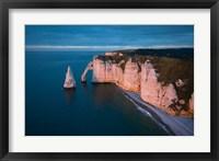Framed Normandy at Etretat