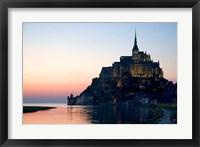 Framed Mont Saint Michel, Basse-Normandie, France