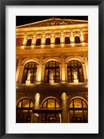 Framed Vienna Music Hall, Philharmonic Orchestra