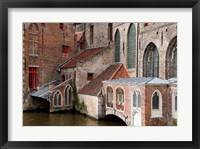 Framed Canals, Bruges, Belgium