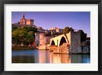 Framed Rhone, Pont St Benezet