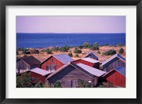 Framed Boathouses of the Aland Islands, Finland