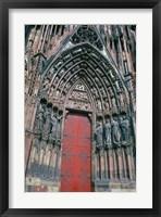 Framed Cathedral Entrance, Strasbourg, France
