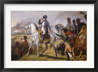 Framed Painting of Napoleon in Hall of Battles