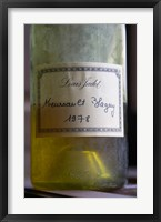 Framed Bottle of Louis Jadot Meursault Blagny