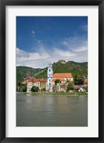 Framed Castle on Danube River