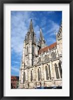 Framed Regensburg, Bavaria, Germany