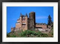 Framed Castle, Rhine River, Germany