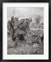 Framed World War I, Battle of Champagne, France