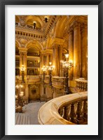 Framed Interior of Garnier Opera House