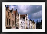 Framed Buildings in Bruges, Belgium
