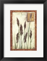 Framed Green Grasses