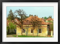 Framed House in Tokaj Village, Mad, Hungary