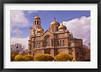 Framed Cretan Labyrinth Church, Bulgaria