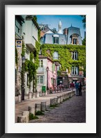Framed Morning in Montmartre