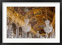 Framed Hall of Mirrors, Chateau de Versailles, France